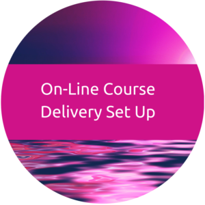 online Course delivery setup